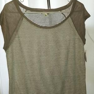 Womens Splash shirt XL, NWT